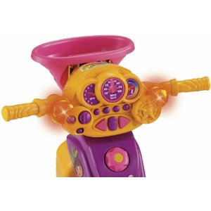 Dora The Explorer Lights And Sounds Trike Tricycle World