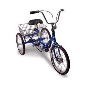 Worksman Port-o-Trike Three Speed Tricycle